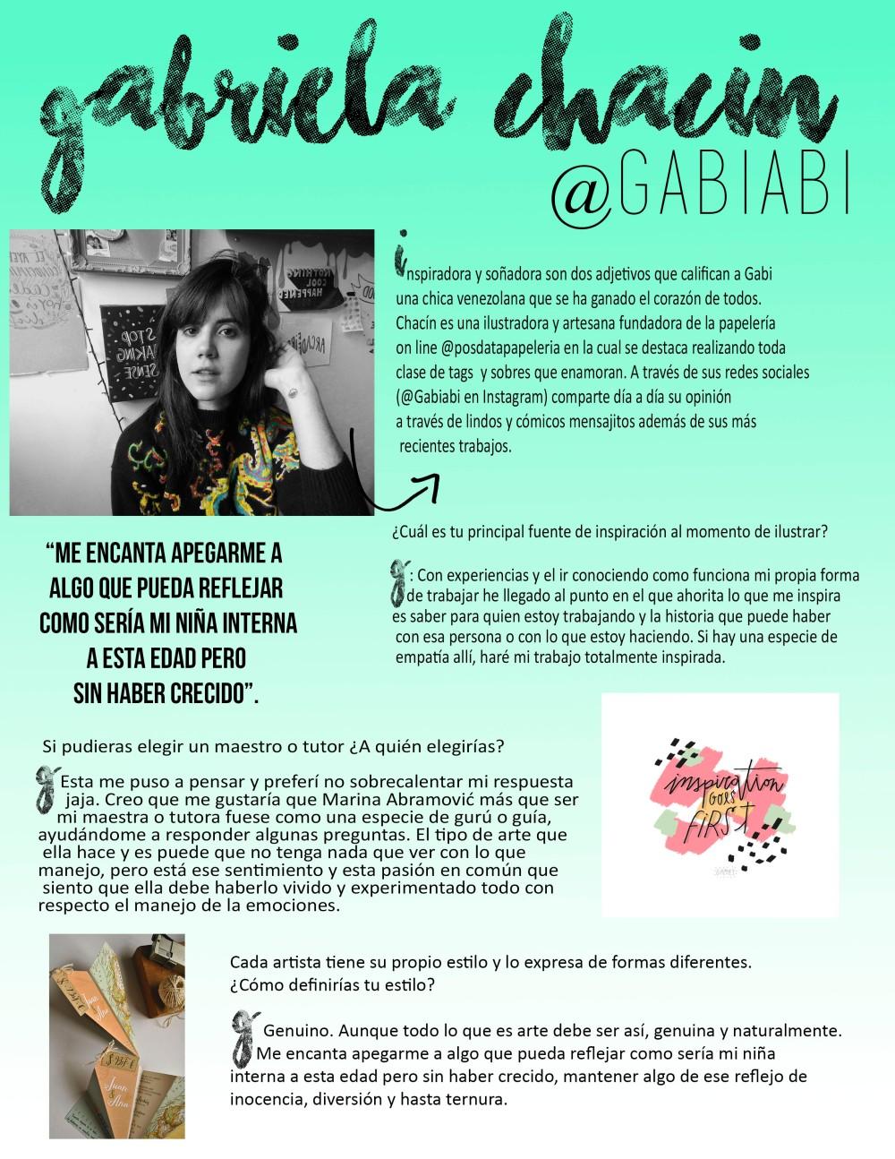 Entrevista a Gabiabi